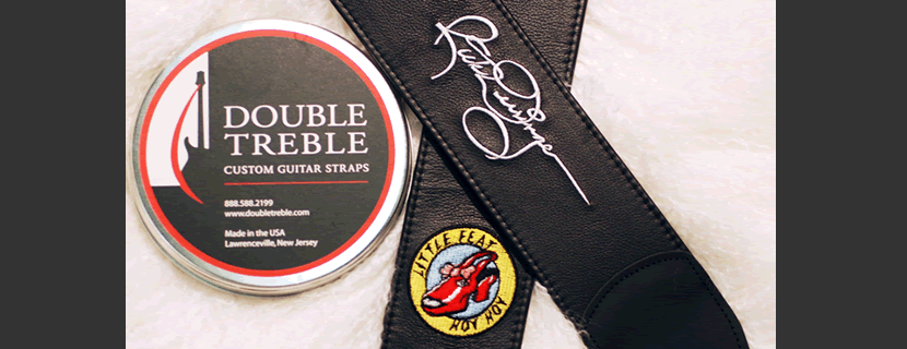 Double Treble Creates the finest quality Custom guitar straps.
