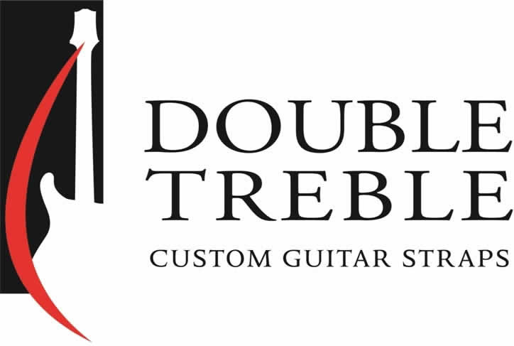 Double Treble Logo : Are you ready for the ultimate guitar strap?